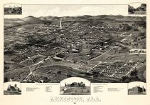 Anniston 1887 Bird's Eye View 24x34, Anniston 1887 Bird's Eye View